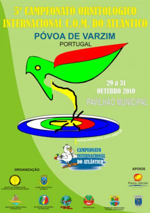 Resultados 5º Campeonato Internacional del Atlántico 2010 (Portugal) - Résultats 5éme Championnat International de l'Atlantique 2010 (Portugal)