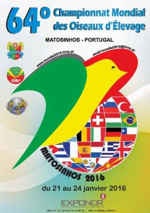 PREMIOS EN EL 64º CAMPEONATO MUNDIAL COM - MATOSINHOS (PORTUGAL) 2016