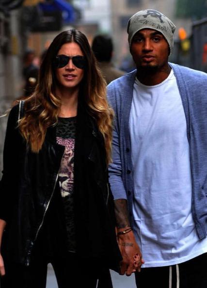 Kevin-Prince Boateng et sa nouvelle petite amie Melissa. Il s'est séparé de sa femme Jennifer.