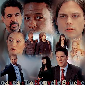 • Saison 04 Épisodes 22 à 26 : * Pour Arrêter Un Criminel, Il Faut Pensée Comme Lui * {créations - décorations}