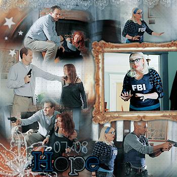 • Saison 07 Épisodes 05 à 08 : * Pour Arrêter Un Criminel, Il Faut Pensée Comme Lui * {créations - décorations}