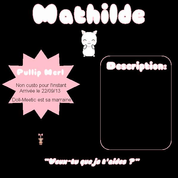 Mathilde, la deuxième ~