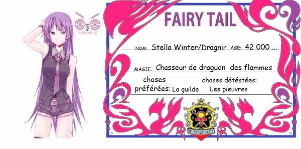 commandes de cartes fairy tail !!!!!