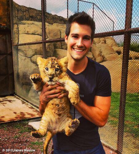 Mon 3ième chéri aime les animaux :D