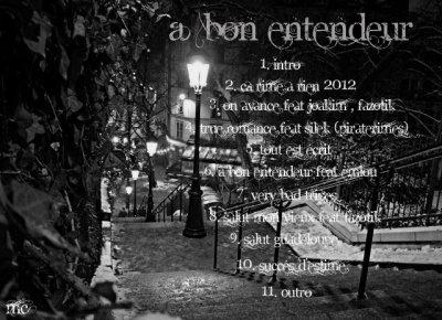 A BON ENTENDEUR / 02 - Ca rime a rien 2012 (2012)