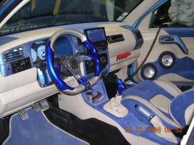 interieur dla golf pts 2005 sa decoiff ici ke des bell voiture lol. Black Bedroom Furniture Sets. Home Design Ideas