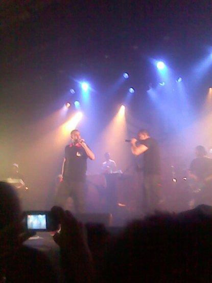 Concert De LA FOUINE. 07/01/12.
