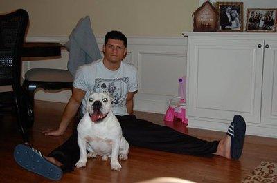 Cody Rhodes avec son chien