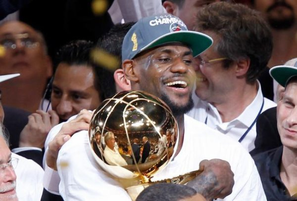 Lebron James MVP 2012