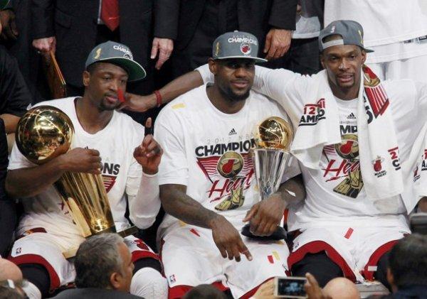 L'Année 2012- La meilleur année pour LebronJames