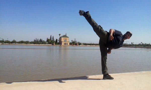 High Kick - Menara Marakech