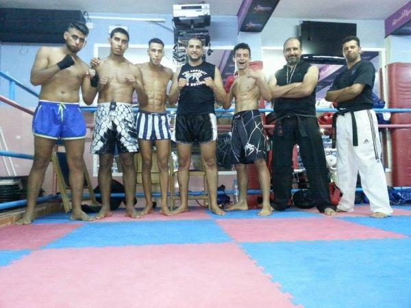 Avec les Champions de Abtal Chamal Club
