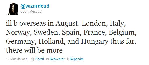 KiD CuDi fera une tournée européenne.