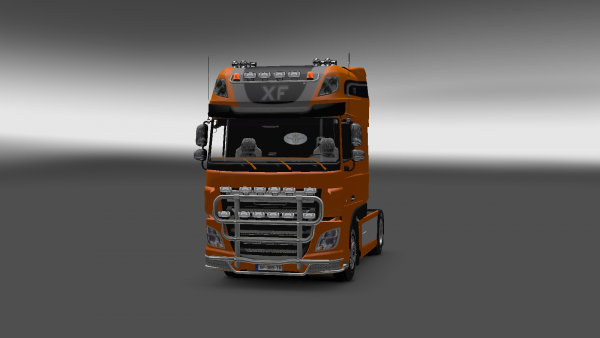 Mon tracteur dans Euro Truck Simulator 2