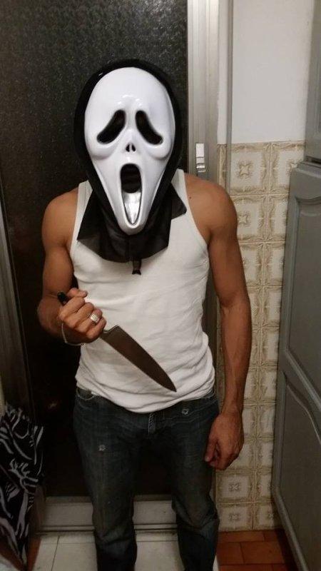 j'ai trouver mon déguisement pour Halloween