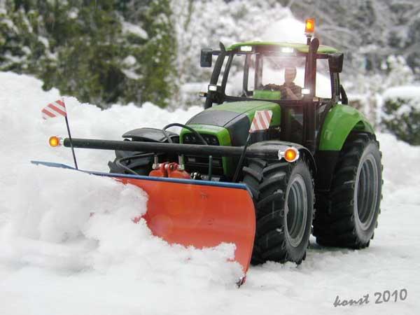 chasse neige mini