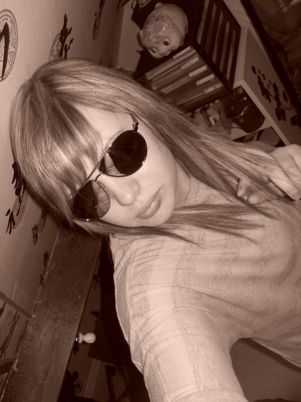 Moi en blonde :)