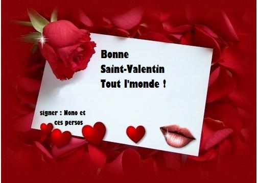 Joyeux Saint-Valentin 2014 !