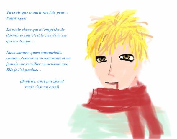 Présentation Personnage: Baptiste ;)