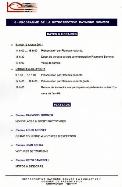 Le Circuit de CADOURS - LAREOLE