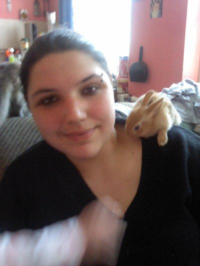 maman avec le lapin