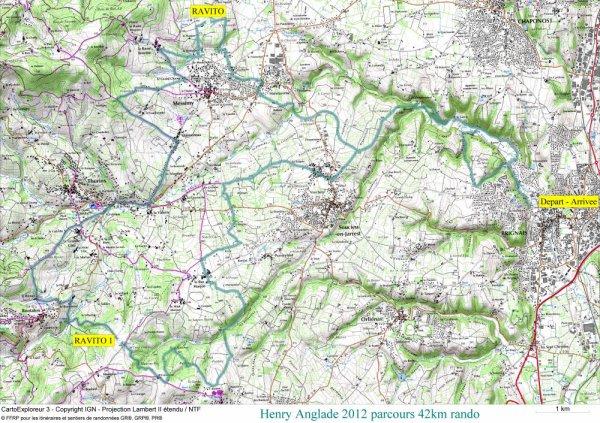 Info parcours 42 km rando