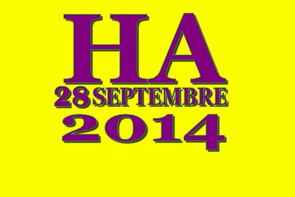 HA  23 éme Edition 28 septembre 2014