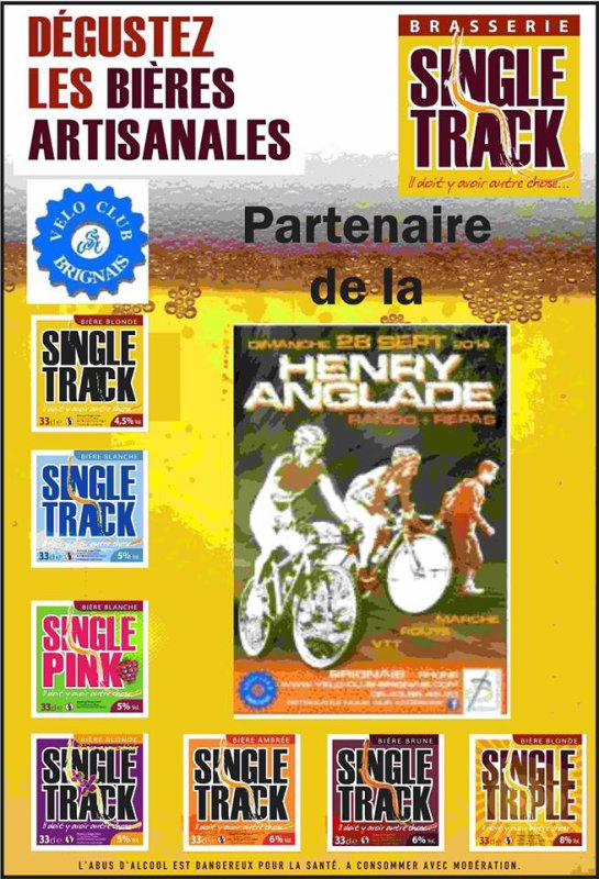 Brasserie Single Track.