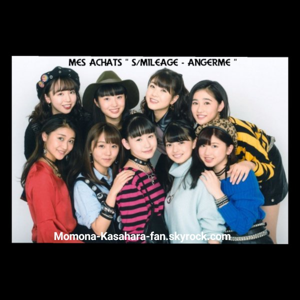 """Mes achats """" S/mileage - ANGERME """""""