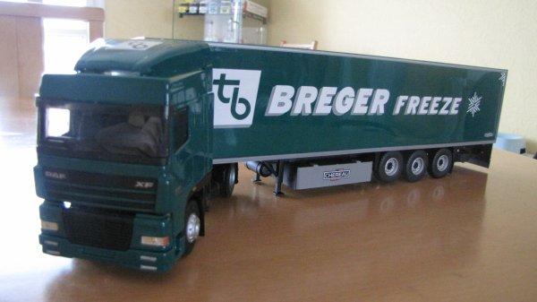 DAF XF 95 RESTYLE SEMI FRIGO CHEREAU BREGER FREEZE