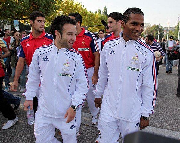 Journée de match (Samedi 9 octobre 2010)