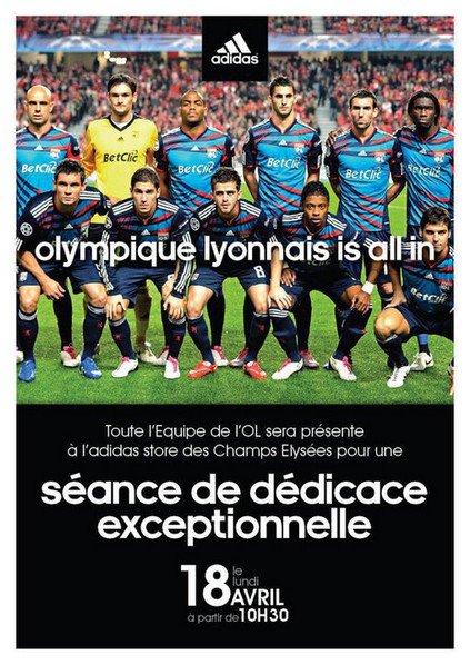 Rencontre avec les joueurs Lyonnais (Lundi 18 avril 2011)