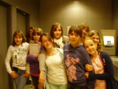 Les filles à Beaubourg