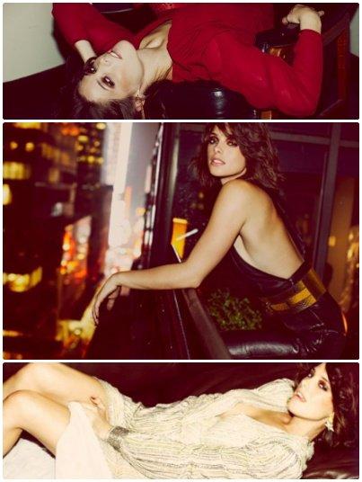 22 avril 2011 .                                                                  voici des nouveaux clichés d'anciens photoshoot : D'abord celui pour le Shape magasine qui nous montre une Ashley très sportive et un pour une revue de mode française.                                    .