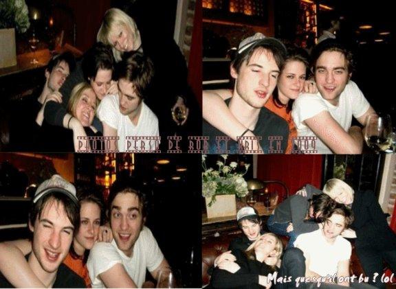 Photos Perso dantant de 2009 Ou l'on peut voir Rob et Kris avec des amis .