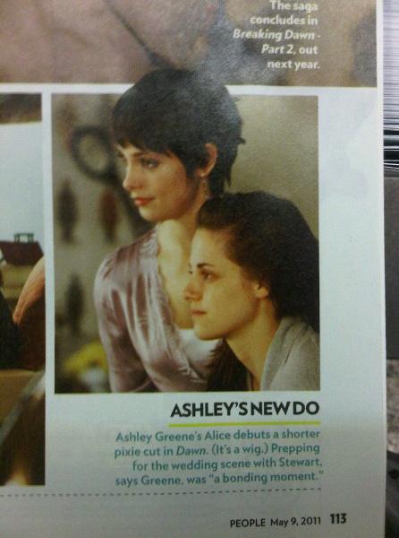 """Nouveaux Stills de Breaking Dawn qui proviennent du Magazine """"People"""" ."""