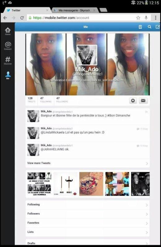 Twitter.  . . Follow. Me
