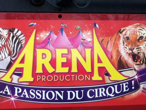 Cirque Medrano a châteauroux ce matin