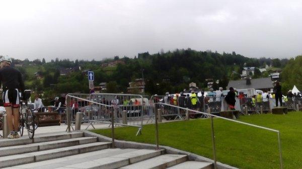 Dimanche 4 juin 2017 - La Time Megève Mont-Blanc (142km - 3.950 m. dénivelé)