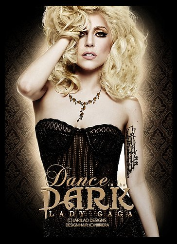 lady gaga dance in the dark {Danser dans le noir} paroles en français