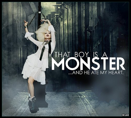 lady gaga monster {Monstre} paroles en français