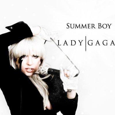 lady gaga summer boys {Gars d'été} paroles en français