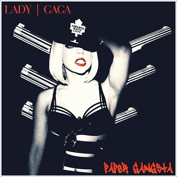 lady gaga paper gangsta {Gangster En Papier} paroles en français