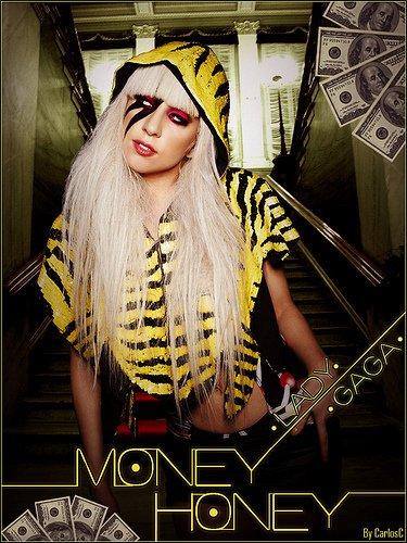 lady gaga money honey (l'argent... si sexy)paroles en français