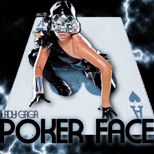 lady gaga poker face (visage impossible) paroles en français