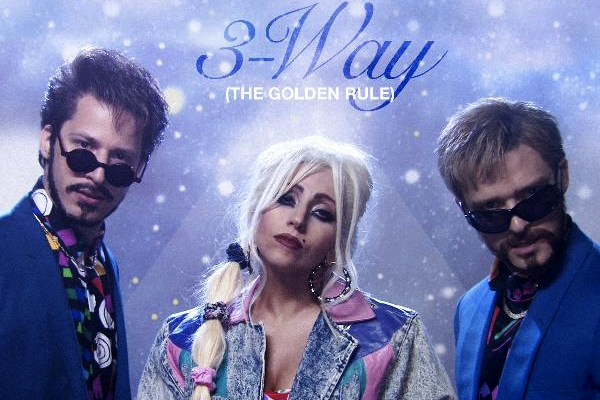 lady gaga 3 way the golden rule (un trip a trois ) paroles en français