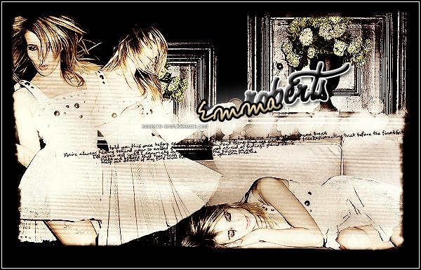 .         Roberts-Emm  ◊ Ta source sur Emma Roberts !        .