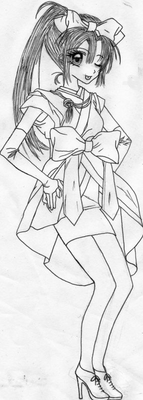 Dessin de Sakura n°5 !
