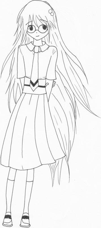 Une fille du manga INDEX