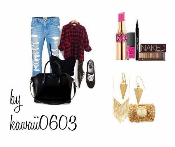 Tenue+make up+accessoire♥